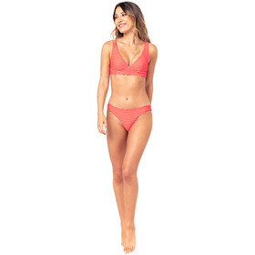 Rip Curl Sugar Bloom Halter Revo Mujer, bright red
